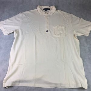 Polo Ralph Lauren Polo XL Cream RPL Embroidered